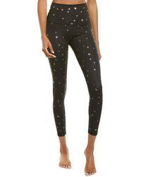 Chrldr All-over Scattered Stars High-waist Legging - Black