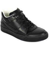 Lanvin Leather Sneaker - Black
