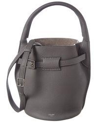 Céline - Nano Big Bag Leather Bucket Bag - Lyst