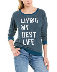 Sol Angeles Best Life Pullover - Blue