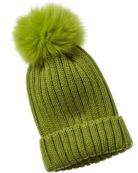 Adrienne Landau Hat - Green