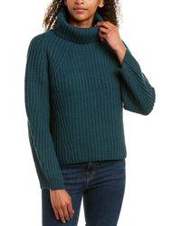 Brochu Walker Wool & Cashmere-blend Jumper - Green