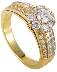 Van Cleef & Arpels Vintage - Van Cleef & Arpels 18k 1.10 Ct. Tw. Diamond Ring - Lyst