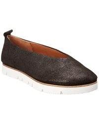 Gentle Souls By Kenneth Cole Demi Leather Flat - Black