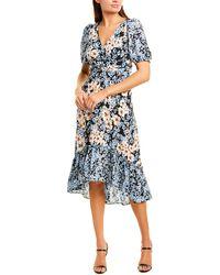 Donna Morgan Midi Dress - Blue