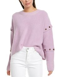 A.L.C. Adams Cashmere-blend Sweater - Purple
