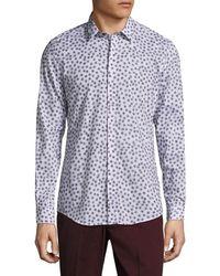 Antony Morato - Printed Collar Sportshirt - Lyst