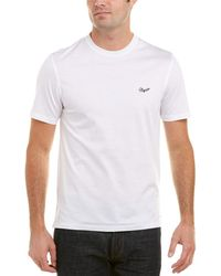 Ermenegildo Zegna Contrast Logo T-shirt - White