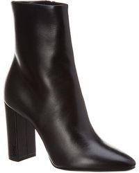 Saint Laurent - Lou Ankle Boots - Lyst