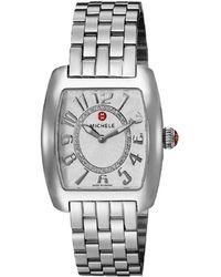 Michele Women's Urban Mini Diamond Watch - Metallic