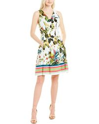 Maggy London A-line Dress - White