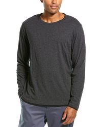 Theory Double Tee Ls.t Shirt - Grey