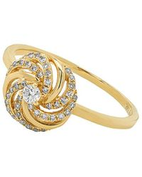 Diana M. Jewels . Fine Jewelry 14k 0.20 Ct. Tw. Diamond Ring - Metallic