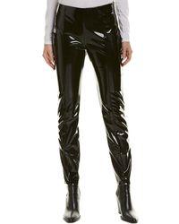 Valentino Vinyl Pant - Black