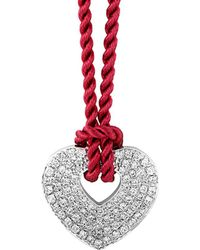 Poiray - 18k 0.76 Ct. Tw. Diamond Toggle Necklace - Lyst
