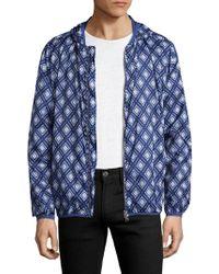 GANT - Diamond Hooded Jacket - Lyst
