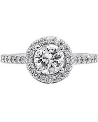 Diana M. Jewels . Fine Jewellery 18k 1.65 Ct. Tw. Diamond Ring - Metallic