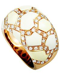 Roberto Coin 18k Rose Gold 0.75 Ct. Tw. Diamond Ring - Metallic