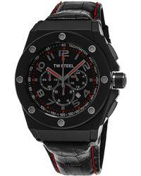 TW Steel Men's Ceo Tech Watch - Black