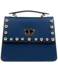 Dee Ocleppo Dee Roma Leather Tote - Blue