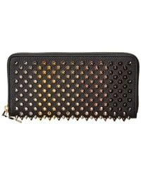 6563aa1337e Christian Louboutin Panettone Spike Stud Continental Wallet in ...