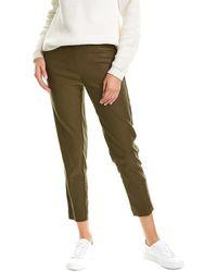 Nanette Lepore Nanette By Nanette Lepore Freedom Stretch Solid Pant - Green
