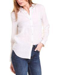 RAFFI Linen Shirt - White