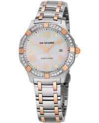 Concord - Women's Saratoga Diamond Watch - Lyst