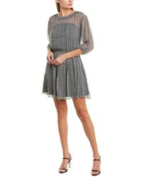 Joie Andora Silk A-line Dress - Black