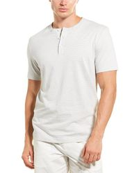 Theory Essential Henley Shirt - White