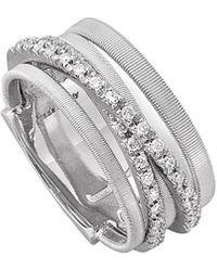Marco Bicego Goa 18k 0.26 Ct. Tw. Diamond Ring - Metallic