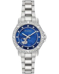 Bulova Stainless Steel Watch - Metallic