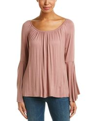 Bailey 44 Bell-sleeve Blouse - Pink