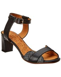 Chie Mihara Keysa Leather Sandal - Black