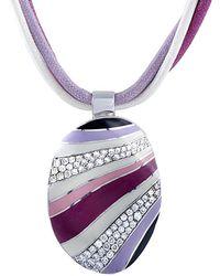 Roberto Coin 18k 0.56 Ct. Tw. Diamond Necklace - Multicolour