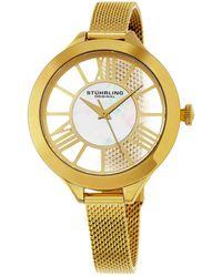 Stuhrling Original Women's Vogue Watch - Metallic