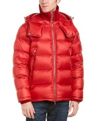 Moncler Pascal Down Jacket - Red