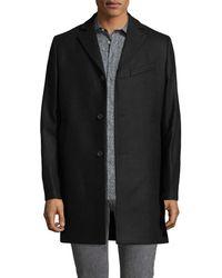 J.Lindeberg - Wolger 77 Compact Melton Wool Coat - Lyst