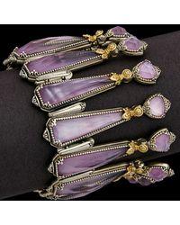 Konstantino Iliada 18k & Silver 36.00 Ct. Tw. Gemstone Doublet Bracelet - Metallic