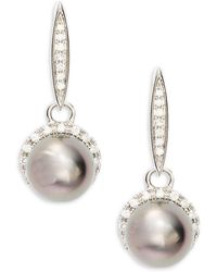 Tara Pearls - Tahitian Pearl & Studs Dangle & Drop Earrings - Lyst