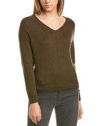 Michael Stars Furled Wool-blend Sweater - Green