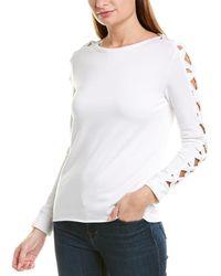 Bailey 44 Snorgy Fleece Sweatshirt - White