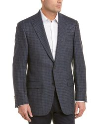 Hart Schaffner Marx - Chicago Fit Wool Sportcoat - Lyst