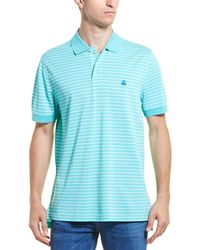 Brooks Brothers Striped Original Fit Polo - Green