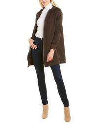 Max Mara Lente Wool-blend Coat - Brown