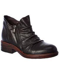 Cordani Parnell Leather Bootie - Black