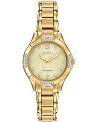 Citizen Eco-drive Diamond Watch - Metallic