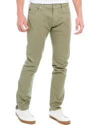 AG Jeans The Dylan Green Slim Skinny Leg