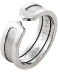 Cartier - Cartier C Motif Ring - Lyst
