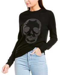 Zadig & Voltaire Miss Skull Nosfa Jumper - Black